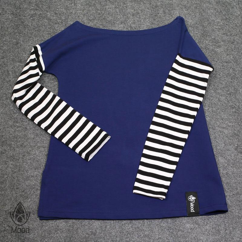The Mood Blue Stripes