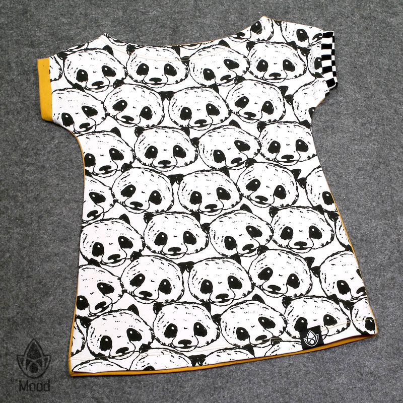 triko The Mood Panda Yellow