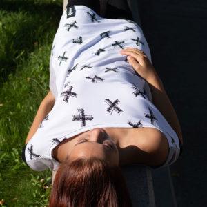 Šaty Cross Grey